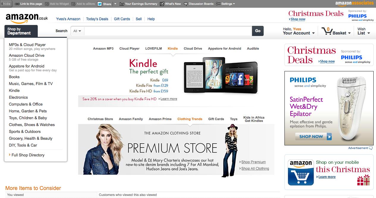 Amazon co uk naar nederland